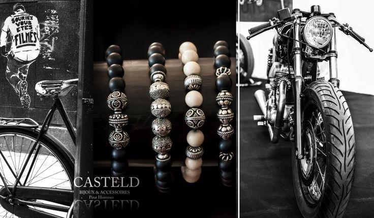 Bijoux accessoires bracelets pour hommes tendances I CASTELD