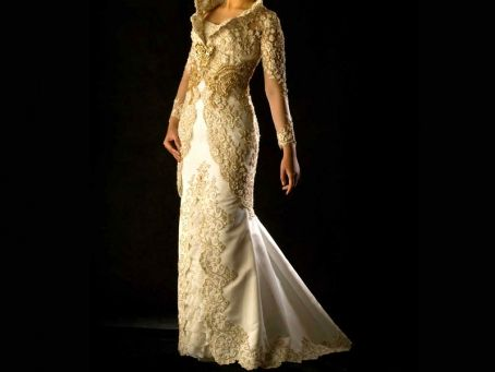 Kebaya Modern Untuk Pernikahan | Modifikasi Kebaya Pengantin - ANNEAHIRA.COM