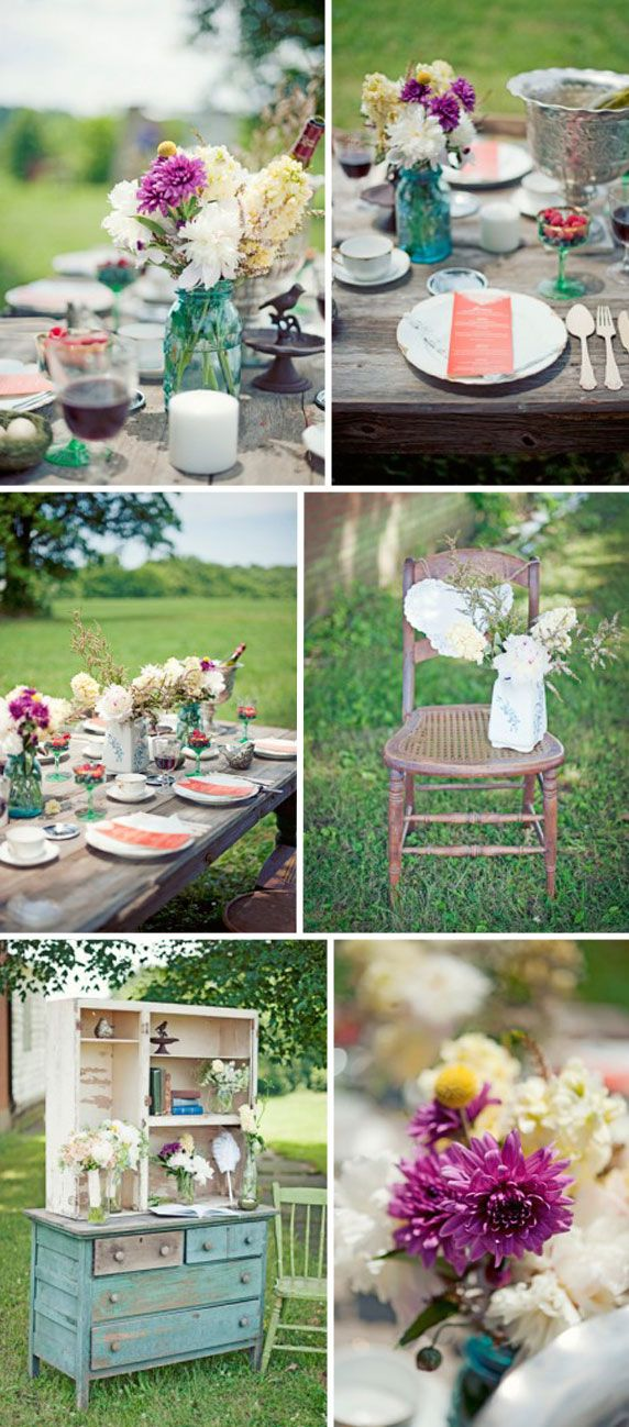 21 best images about id es deco champetre on pinterest belle nature and champs Idees deco mariage champetre