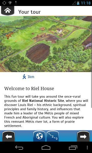 This fun tour will take you around the once-rural grounds of Riel House National Historic Site, where you will discover Louis Riel – his ethnic background, spiritual principles and family history, and influences that made him a leader of the Métis people of mixed French and Aboriginal culture. You will also explore this remnant Métis river lot, a form of prairie settlement.<p>Details:<br>A GPS-triggered guided tour of Riel House National Historic Site<br>Location-specific photos and…