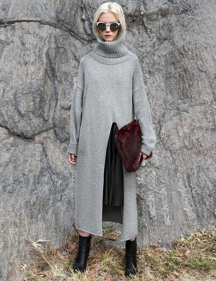 $23.74 Grey maxi dress with long sleeves.                                                                                                                                                                                 More