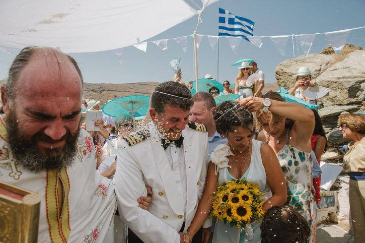 rise throwing open air wedding Kythnos | lafete