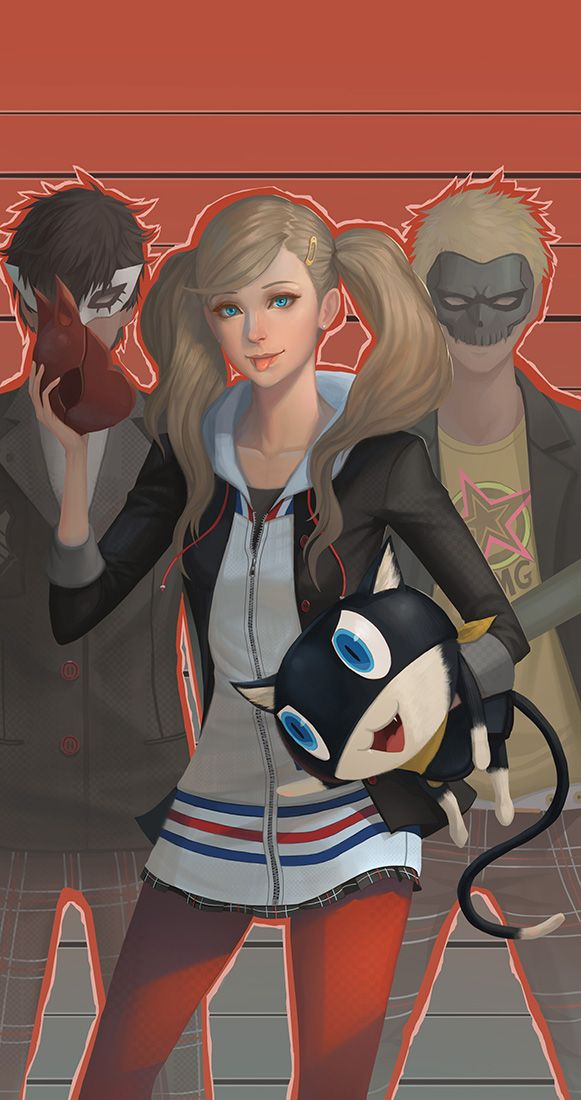 Persona 5 by yagaminoue on DeviantArt