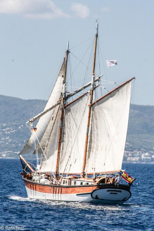 Sailboat - Palma by Martín Pérez