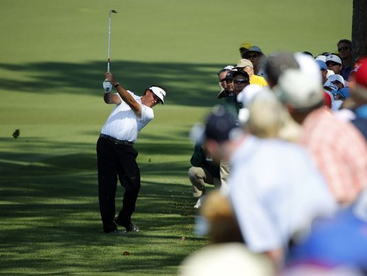Phil Mickelson 2014 Masters