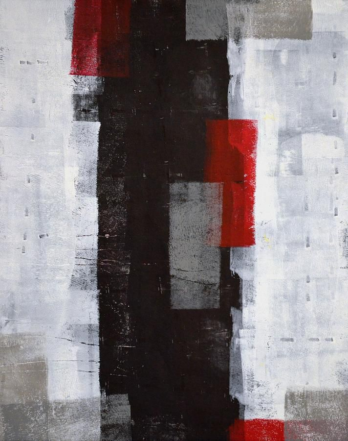 red abstract painting - Google Search