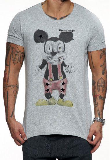 psycho mickey on grey