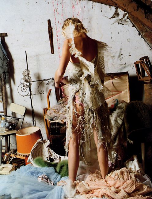 Corinne Day shows us that a messy room is art. Me.