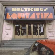 Cine Equitativa, en Plaza de Vigo de La Coruña