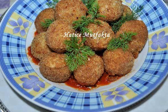 Tahinli Sebzeli Patates Köftesi Tarifi