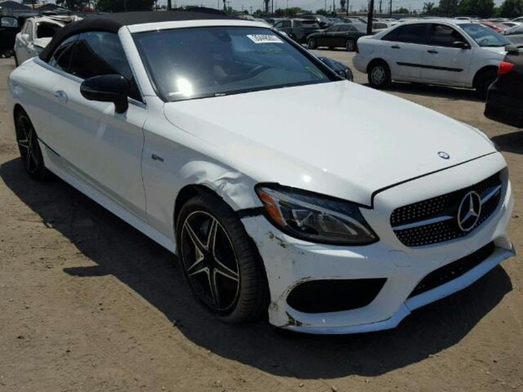#salvageauction 2017 #MERCEDES #BENZ #C43 #AMG #4MATIC www.bidgodrive.com #forsale #convertible #auction #bid #germancars