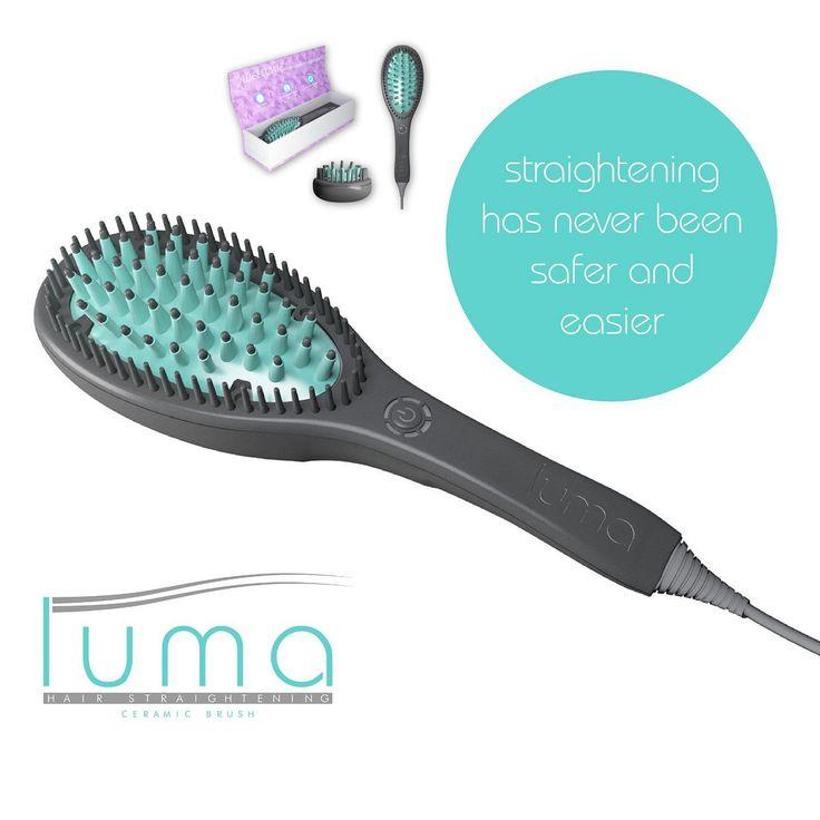 Luma Brush - Hair Straightening 3D Ceramic Brush For All Hair Type