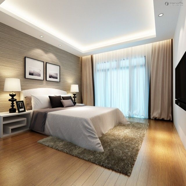 ides de dco murale et amnagement chambre coucher with abat. Black Bedroom Furniture Sets. Home Design Ideas