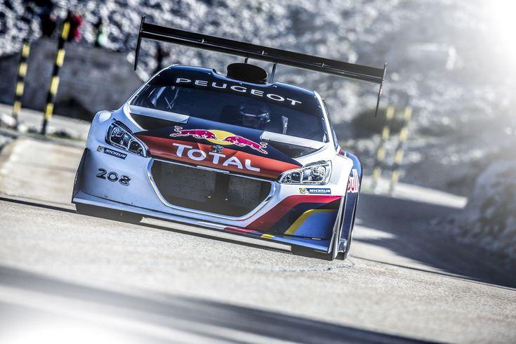 Peugeot 208 T16 Pikes Peak : essais au Mont Ventoux