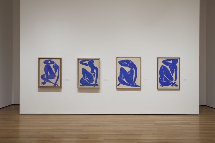 Matisse Blue Nude installation at MoMA - 2014
