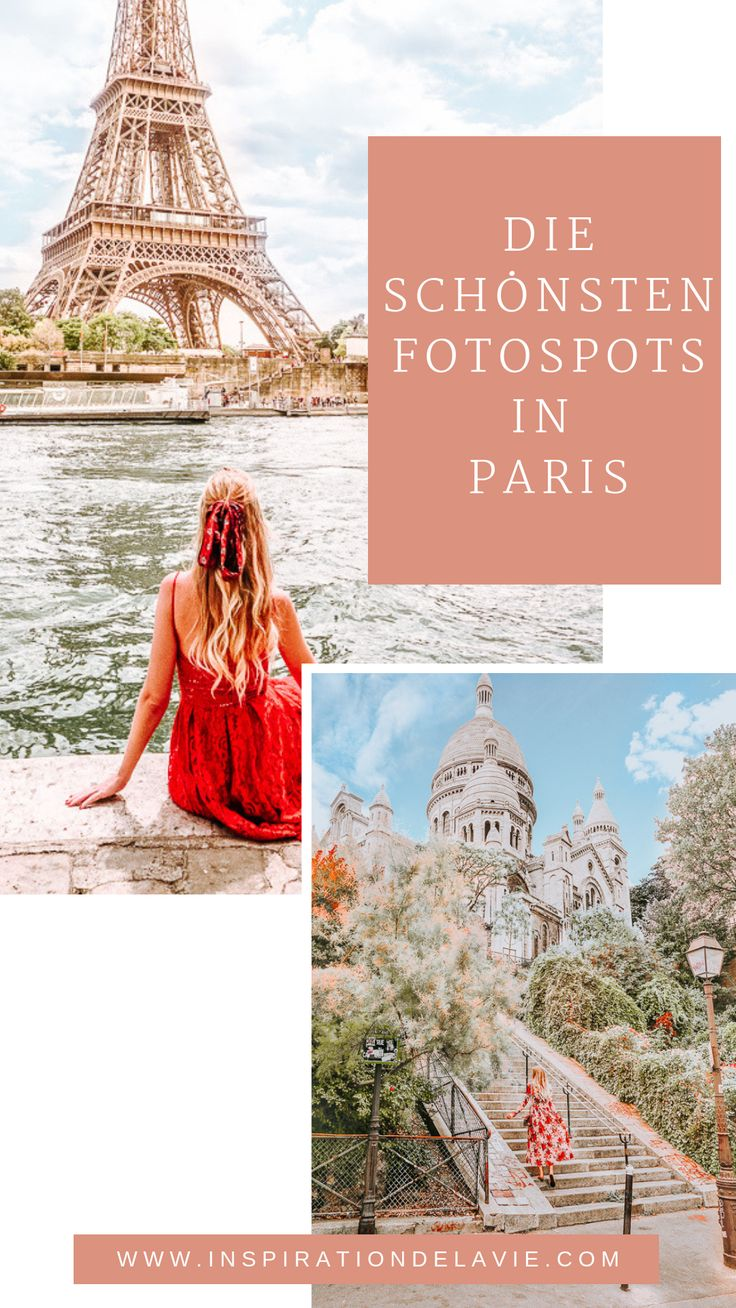 The most beautiful photo and Instagram spots in Paris