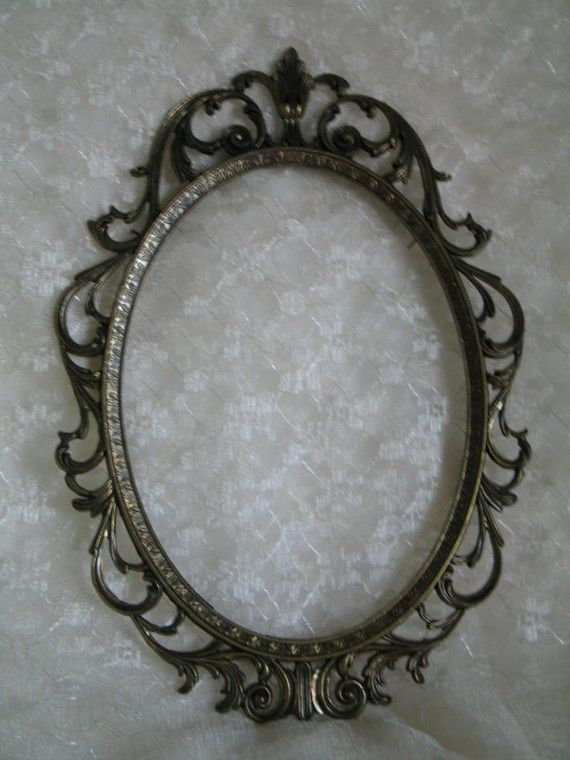 Victorian frame - Jason Giordano. On etsy Inspiration for a tattoo?
