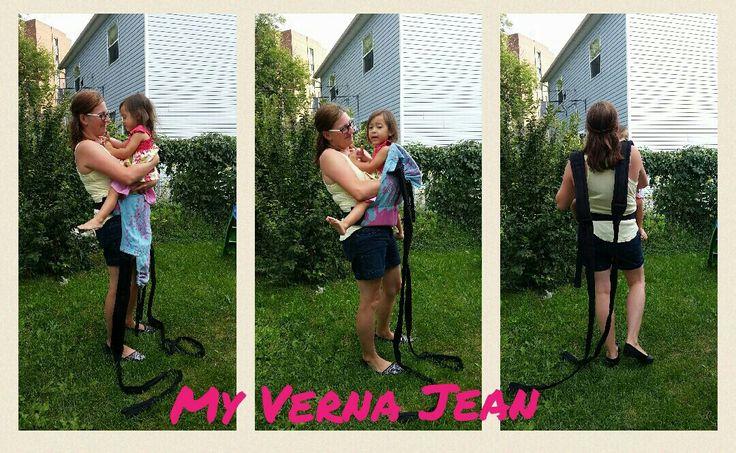 My Verna Jean: Babywearing With A Mei Tai
