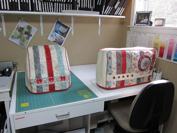 Serger & sewing machine covers!!!! can't wait to make mine =]