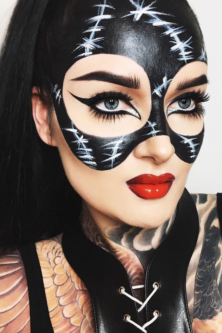 Catwoman Halloween Makeup : catwoman, halloween, makeup, Catwoman, Halloween, Makeup, Ideas, Makeup,