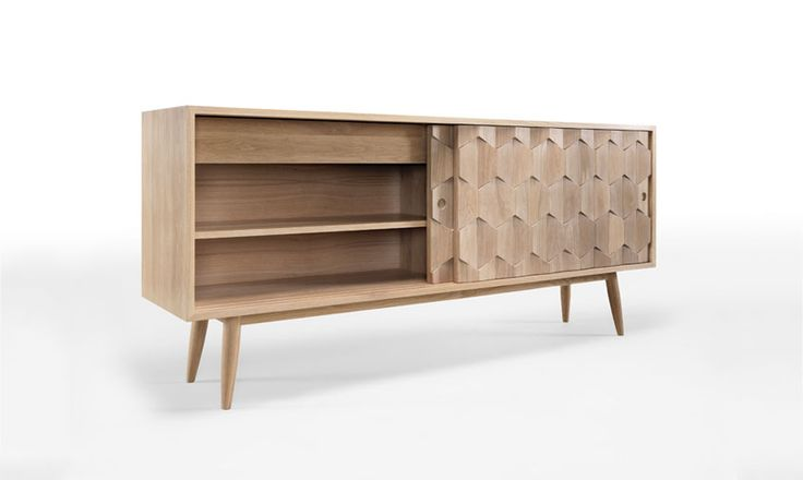 Wewoodn Scarpa sideboard is an amazing piece, all in solid oak, perfect for your living room. #scarpa #sideboard #console #storage