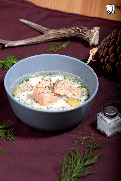 Lohikeitto  fińska zupa z łososia
