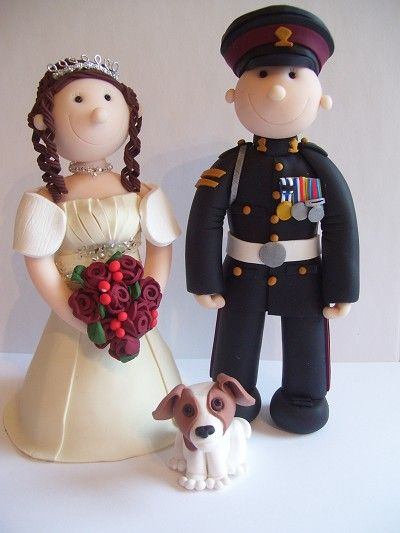 Eternal Cake Toppers - Military Wedding Cake Toppers