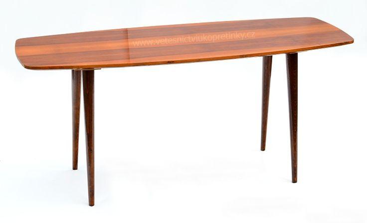 #retro conference table (konferenční stůl 1967)  #vetešnictví #bazar #bazarnábytku #junkshop #vetesnictviukopretinky