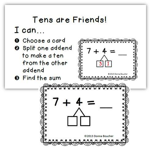 Make a Ten Strategy for Addition - Math Coach's Corner