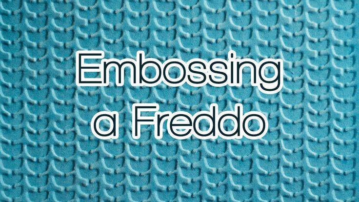 Embossing a Freddo - Tutorial - Tecniche di base