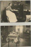 hoofdverpleegster en zuster in hun kamer kinderziekenhuis laan van meerdervoort den haag 1017