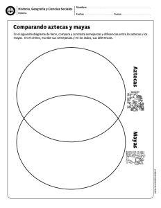 Comparando aztecas y mayas