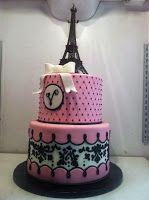 Paris themed cake - Classy Cakes