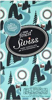 Tesco's Swiss Mint Chocolate wrapper
