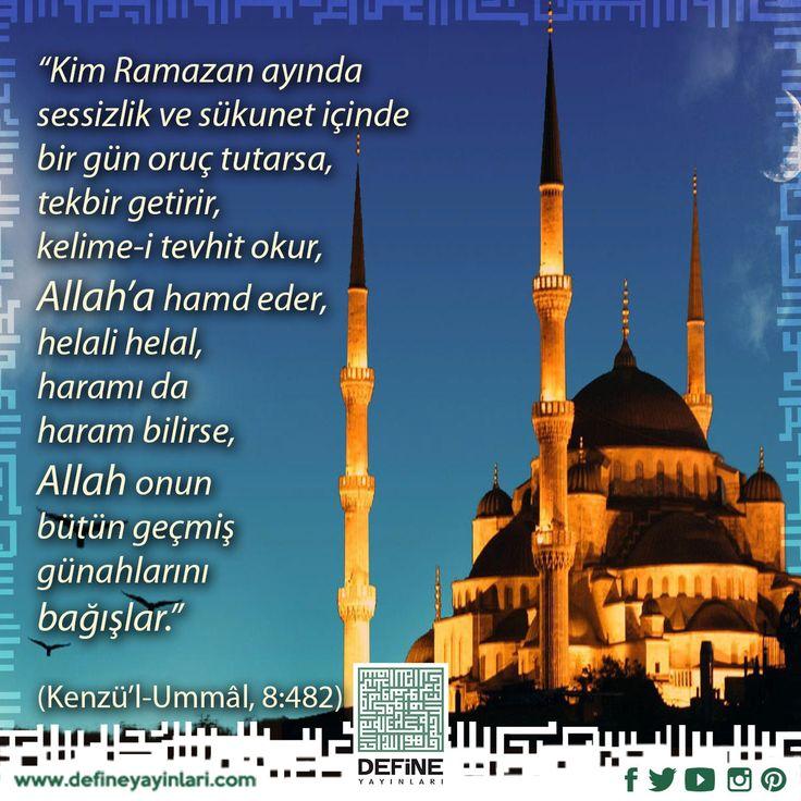 HOŞGELDİN ONBİR AYIN SULTANI. #define #defineyayınları #dua #pray #ramadan #ramazan #onbirayınsultanı #ramazan #mübarekay #ucaylar #mubarekaylar #ramazanayı