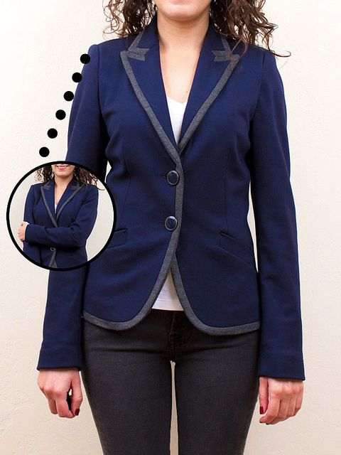 Handy tips on blazer fit (not just for petites!) by Alterations Needed