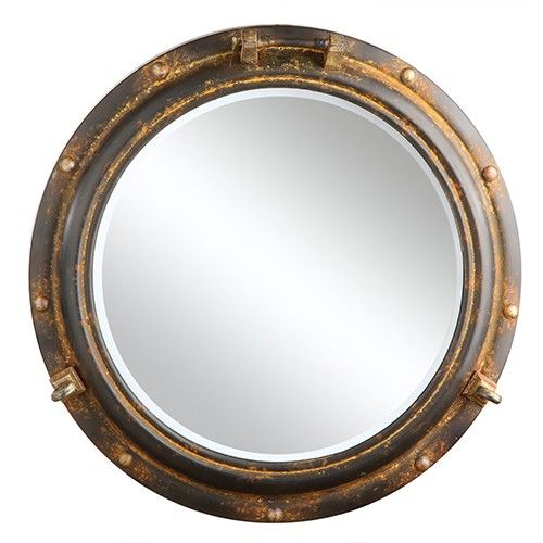 Porthole Wall Mirror - Creative Co-Op | Milan Direct