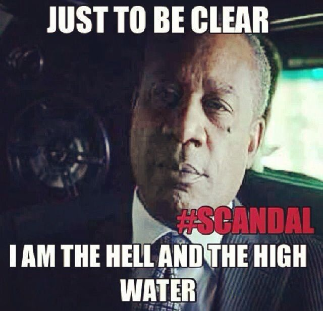 Joe Morton should be given an Oscar for his performance on Scandal. It's THAT GOOD.