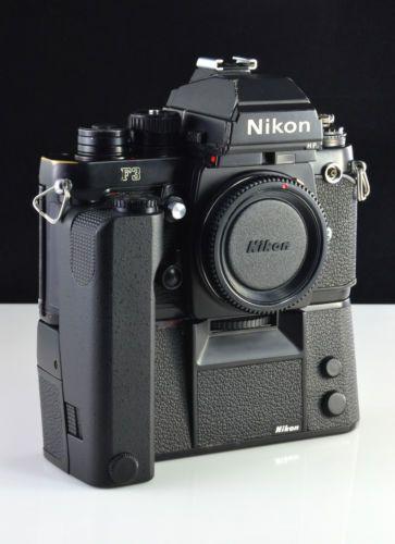 NIKON F3-P - MF-6B -MD-4 - FULLY-WORKING - NEW FOAMS - BATTERIES - RARE PRESS - CAMERA