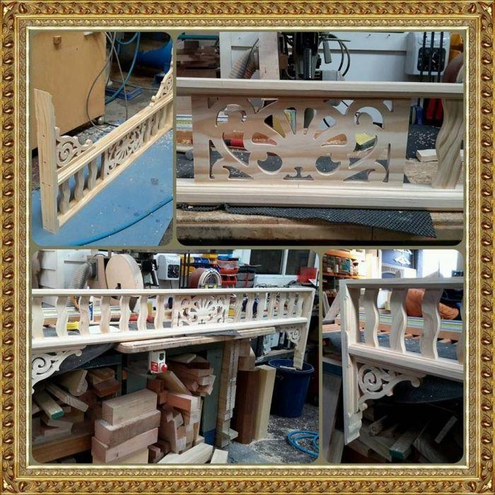 Interior Fretwork - Elizabeth Arch - Ryan Woodworks