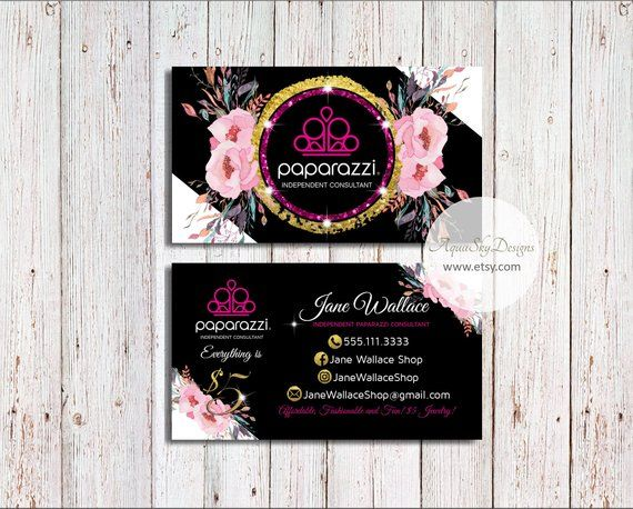 Paparazzibusinesscards Paparazzi Jewelry Paparazzi Accessories Paparazzi Business Card Pa Jewelry Business Card Marketing Business Card Colorful Business Card