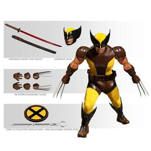 Mezco Toys One:12 Collective: Marvel Wolverine Action Figure