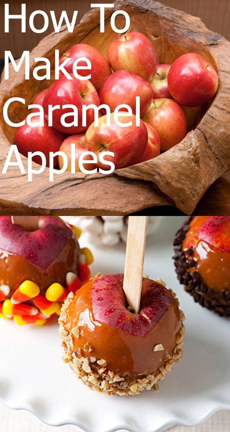 HOW TO: Make Caramel Apples #howto #diy
