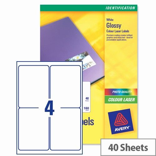Avery Label 6 Per Page Best Of Avery L7769 40 Address Labels Colour 4 Per Sheet 139 X 99 Label Templates Avery Labels Print Address Labels