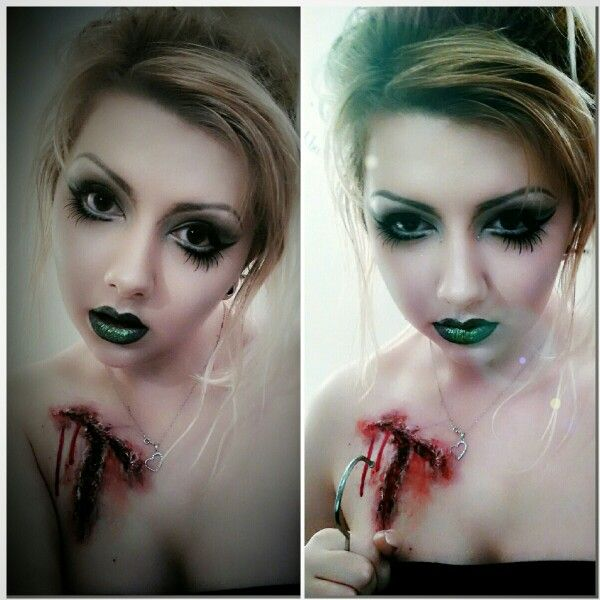 Evil tinkerbell makeup - emmaheath_mua instagram