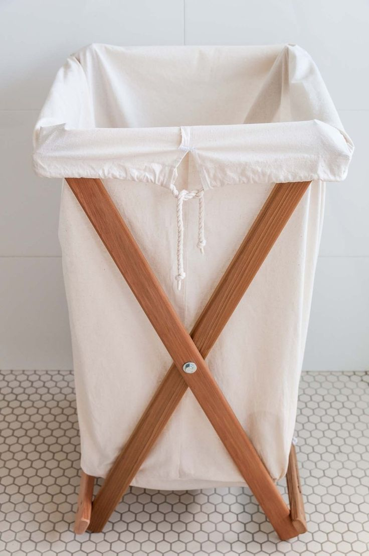 Laundry Hamper With Cotton Liner
