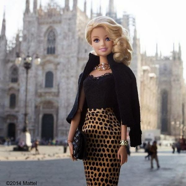 Looks da Barbie blogueira - Copie os looks da Barbie