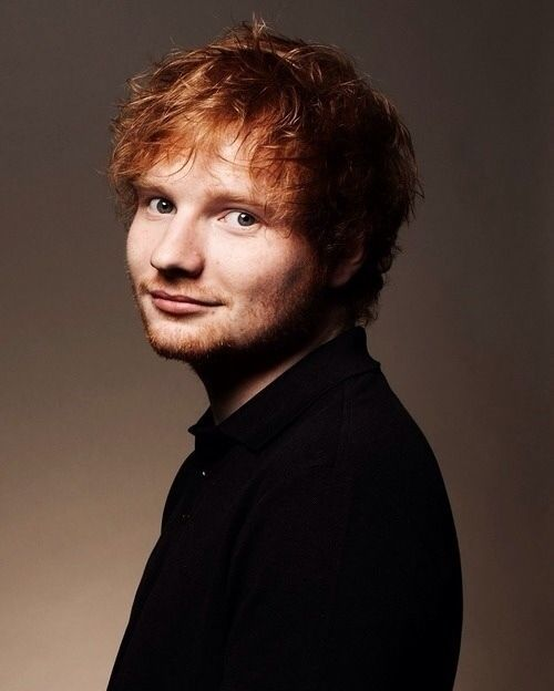 Ed Sheeran. He sees all his songs in colours.