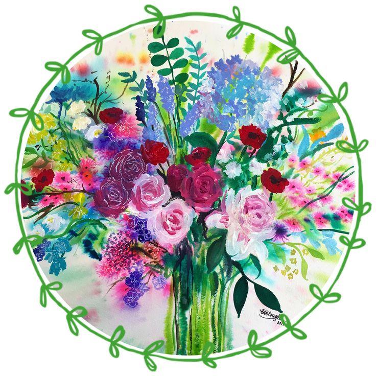 Bouquet by Carol Clough