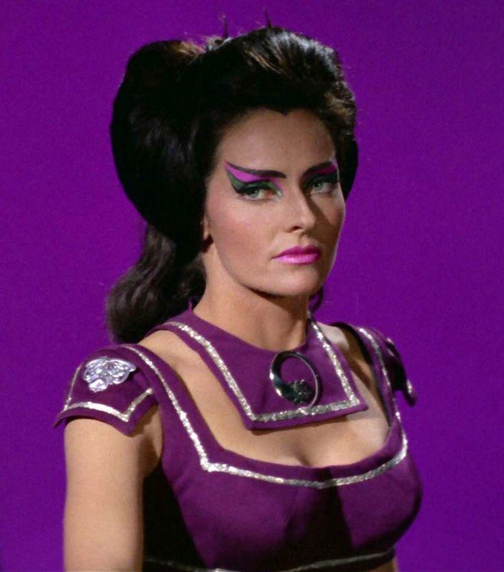 "☜(◕¨◕)☞   Lee Meriwether as Losira in the original Star Trek series: Season 3 Episode 17 ""That Which Survives"""
